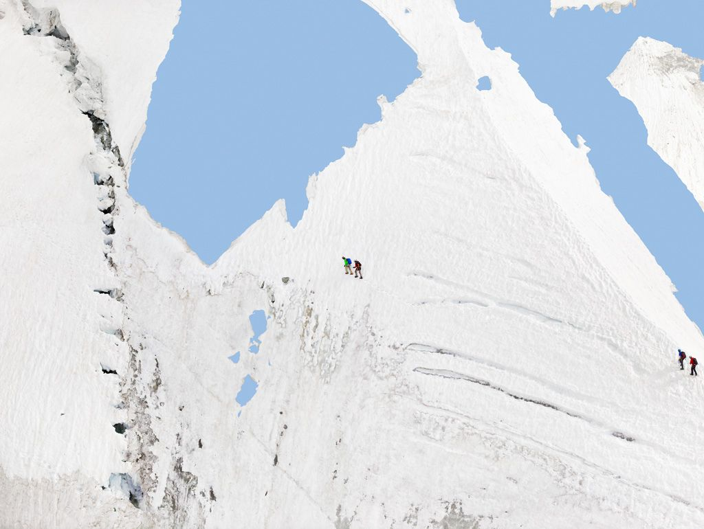 Alps – Geographies and People #3, 2012,45 x 60 inch or 65 x 85inch archival pigment print.