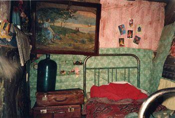 Sasha's Attic Room, Rybinsk, 1991, 16 x 20 inch Chromogenic Print, Edition of 10