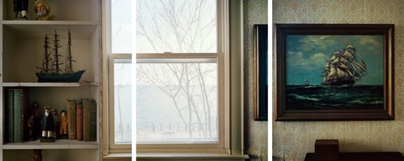 Transgressors, 2012. Three-panel archival pigment print, available as 24 x 60 or 40 x 90 inches.