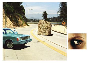Alex Prager, 1:18pm, Silverlake Drive and Eye # 2 (Boulder), from the series Compulsion, 2012