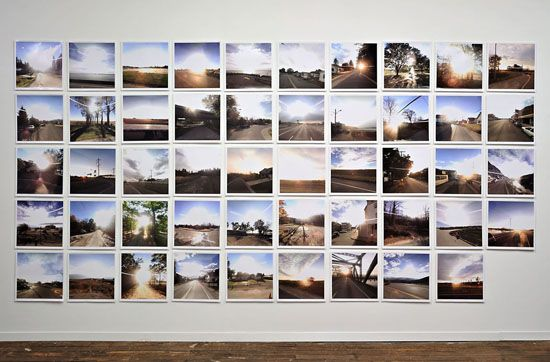 The 49 States, 2009, 49 chromogenic prints, 16 x 16 inches each