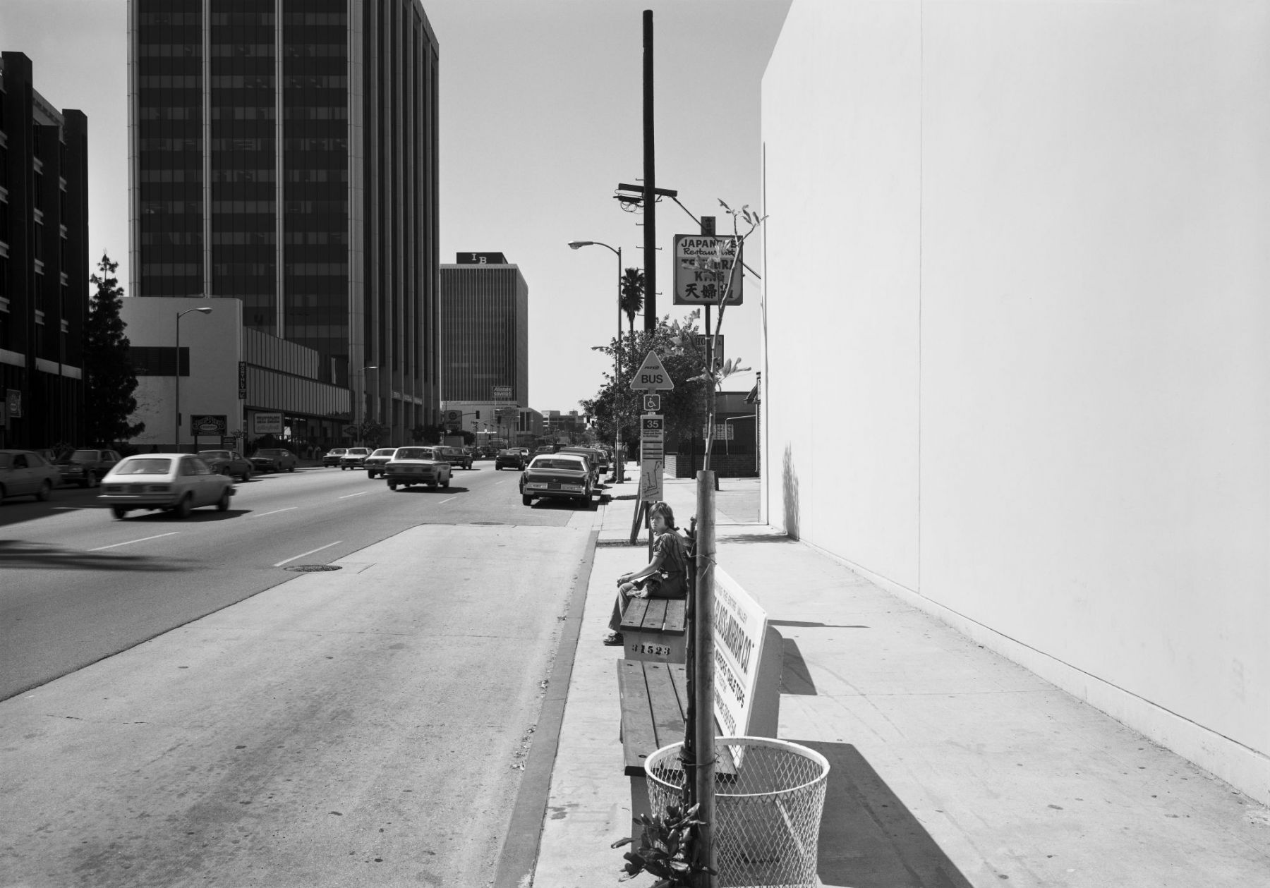Anthony Hernandez, Public Transit Areas #12, 1979