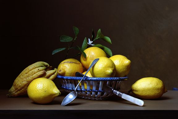 Early American, Lemons, 2007. Chromogenic print, 14 3/4 x 18 1/4 inches.
