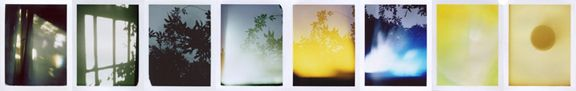 Untitled, from The Sun Room: Interchanges, B-Sides & Remixes, 2008-ongoing, set of eight Polaroids, each 4.25 x 3.5 inches, unique