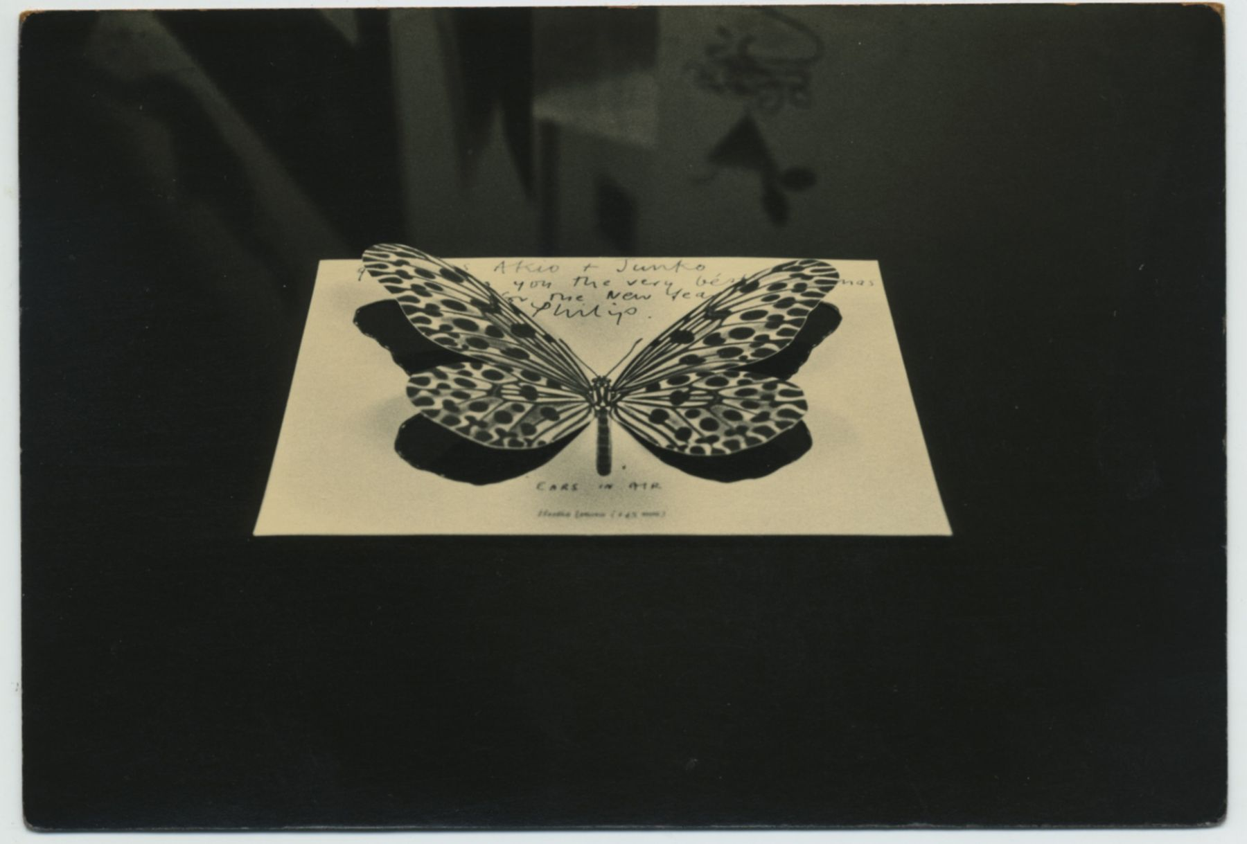 Untitled #81from the seriesA Box of Ku, 4 x 6 inch gelatin silver printwith mixed media