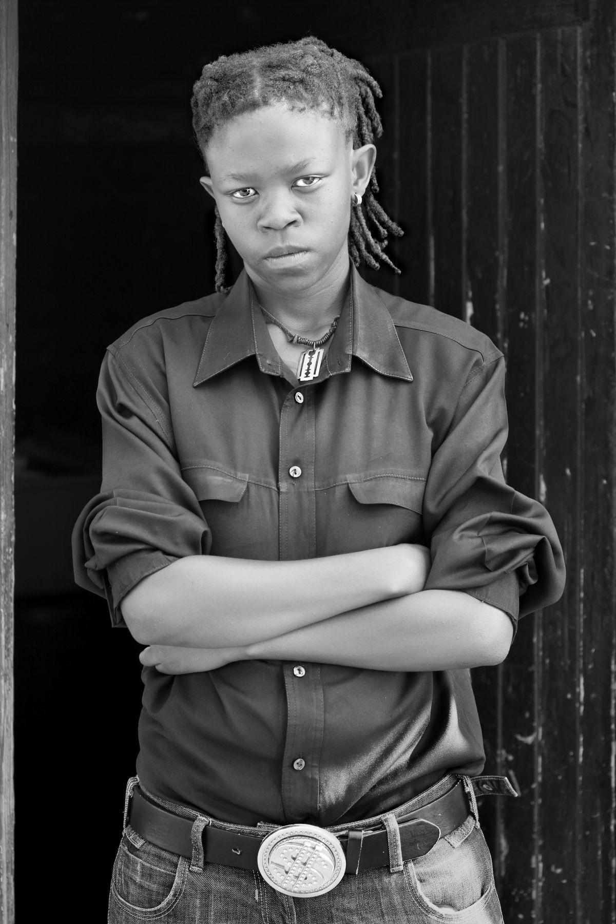 Bongiwe ''Twana' Kunene, Kwanele South, Katlehong, Johannesburg,2012, From the Series Faces and Phases.