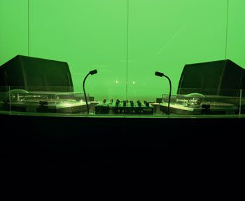 DJ Booth, South Beach, 2002, Chromogenic Print, available in 20 x 24, 30 x 40, and 40 x 50 inches, editions of 5.