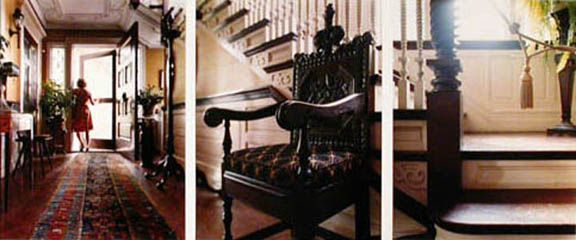Having Seen Shakespeare's Chair, 2005. Three-panel archival pigment print, available as 24 x 60 or 40 x 90 inches.