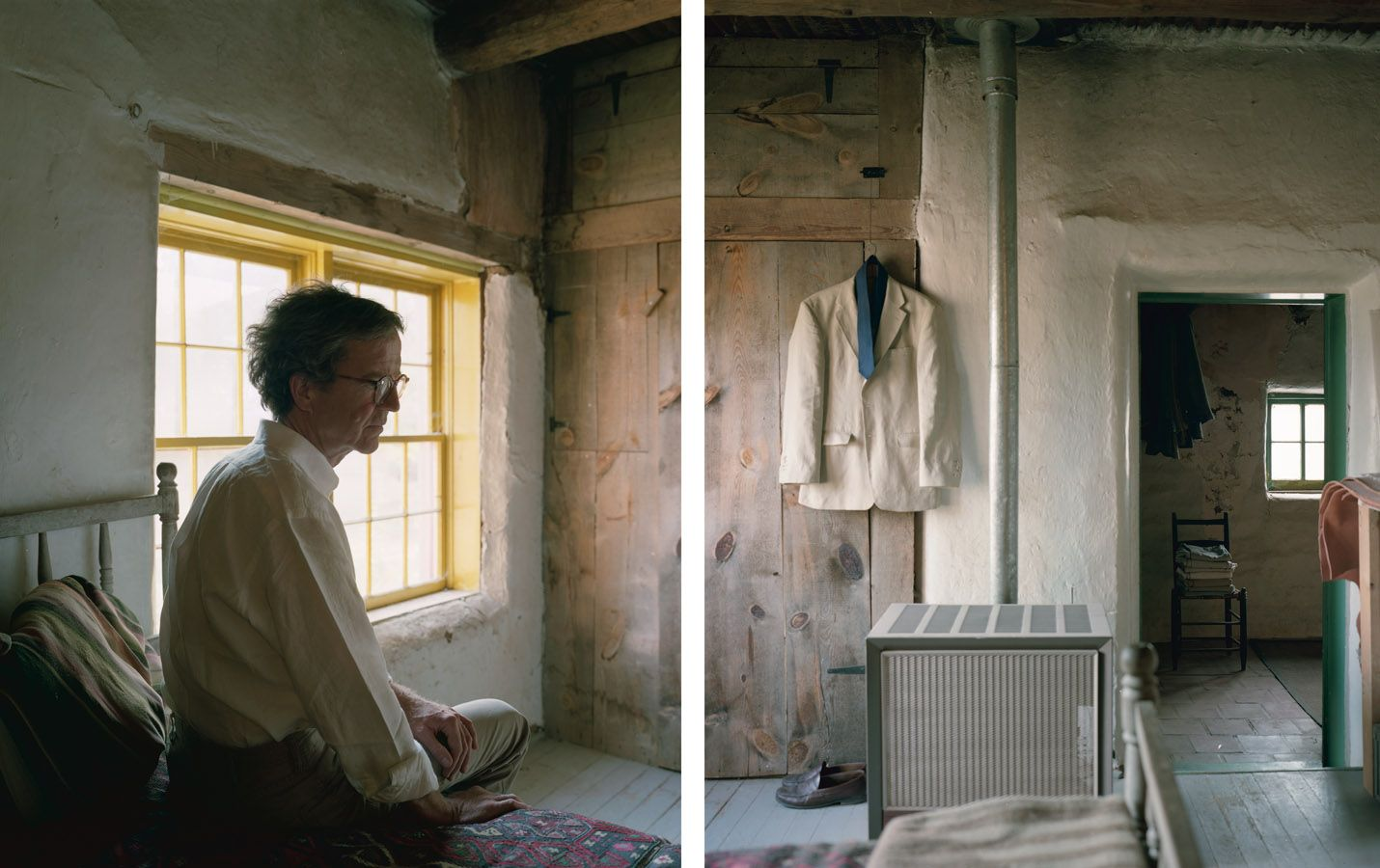 Kevin, 2012. Two-panel archival pigment print, available as 24 x 40 or 40 x 60 inches.