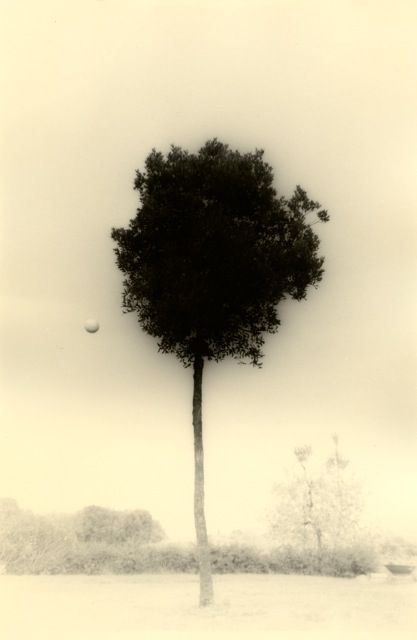 Untitled #1612from the seriesKawa=Flow,9.5 x 6.25 inch gelatin silver printwith mixed media