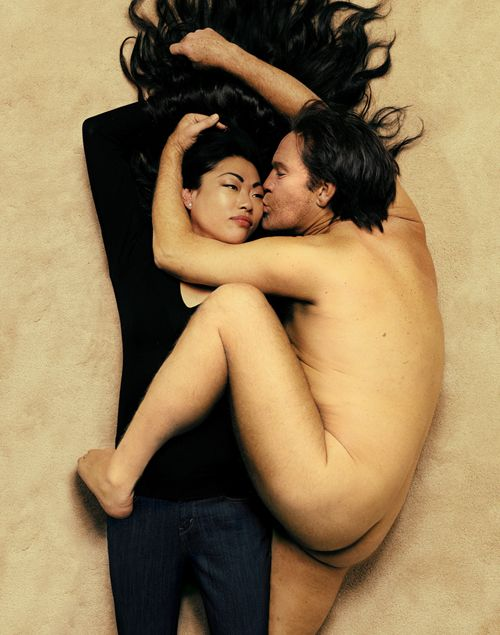 Annie Leibovitz - John Lennon and Yoko Ono (1980), 2014,Archival pigment print,26.5 x 21.5 inches