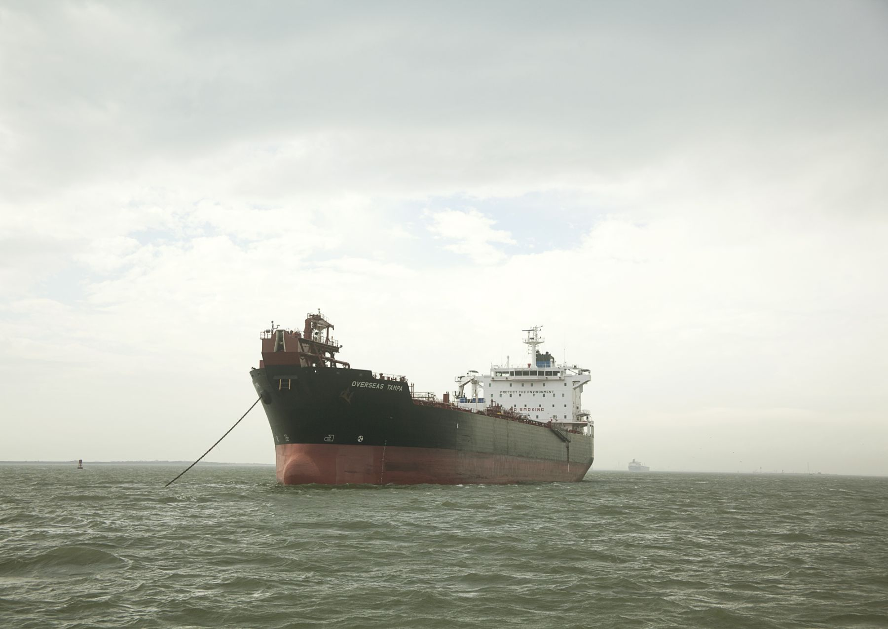 Untitled (Oil Chemical Tanker Overseas Tampa, USA), Houston Ship Channel, Texas, 2015, 17 x 22 or 27 x 40 inch chromogenic print
