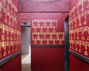 Red and Gold Corridor, Haunted Graveyard, 2004, Chromogenic Print, available in 20 x 24, 30 x 40, and 40 x 50 inches, editions of 5.