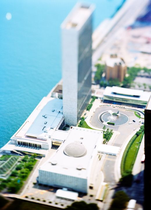 site specific_NYC_07_(United Nations), 2007, 45 x 61 inch or 65 x 85 inch archival pigment print
