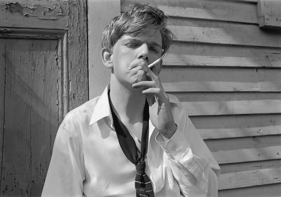 Bourbon Street (Boy Smoking), 1995 Gelatin silver print, please inquire for available sizes