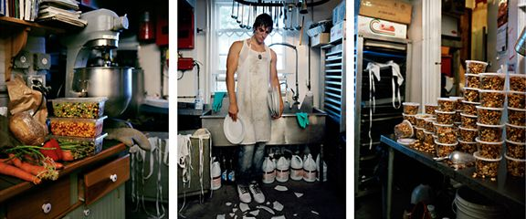 Dish, 2009. Three-panel archival pigment print, available as 24 x 60 or 40 x 90 inches.