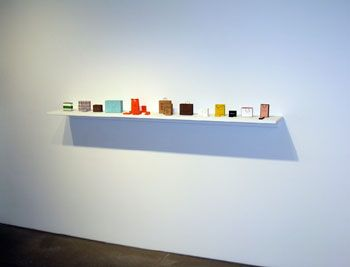 Little Luxuries, 2009, Color laser prints, ink, thread, adhesive, Dimensions variable, approx. 25 pieces, *Individual groups available upon inquiry