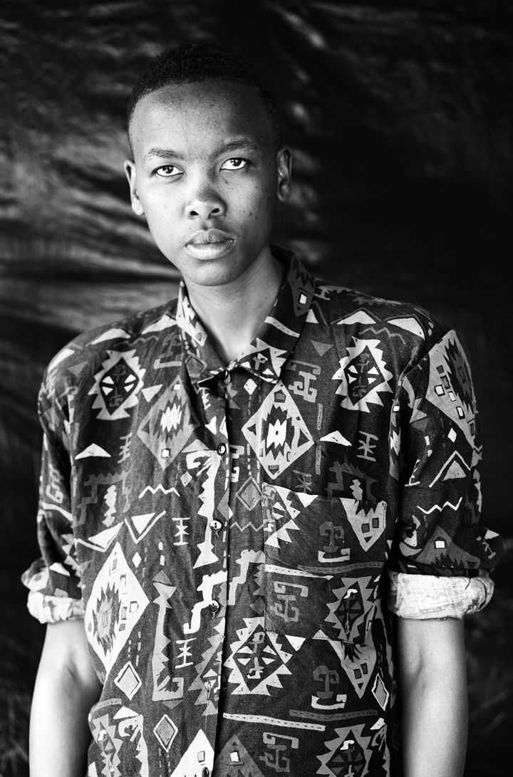 Lesego Masilela Daveyton, Johannesburg (2013). Gelatin Silver Print. Image: 30 x 19.75 inches. Paper: 34.25 x 24 inches. Edition of 8,