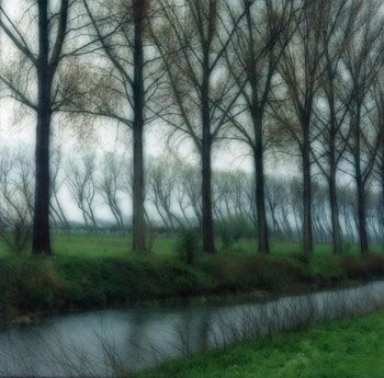 Damme, Belgium, 2004 (4-04-60c-5), 19 x 19 and 28 x 28 inch Chromogenic print, Edition of 15 per size