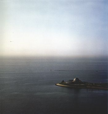 Adler Planetarium, from the series Revealing Chicago, 2004, 30 x 30 or 40 x 40 inch chromogenic print
