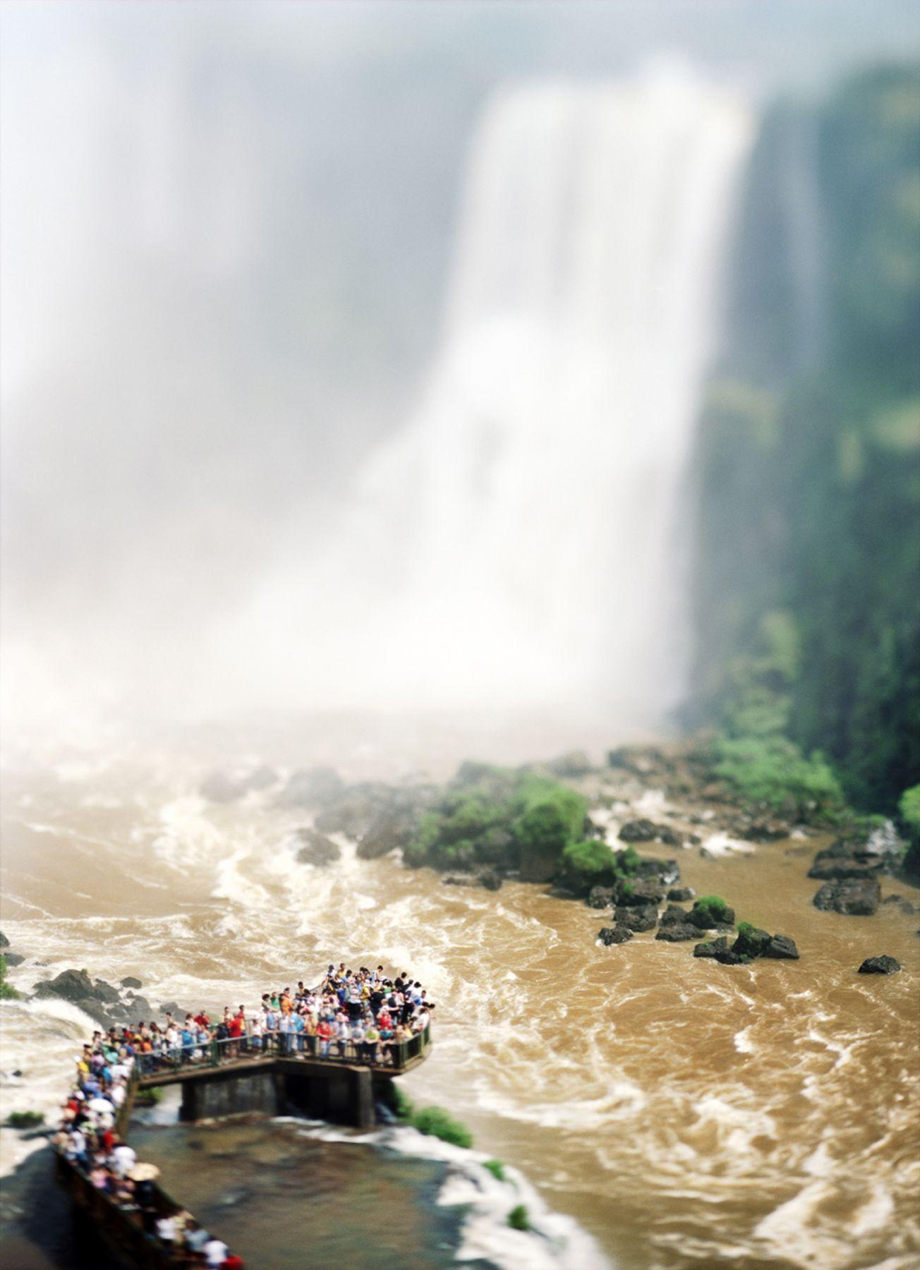The Waterfalls Project (Iguazu), 2007, 61 x 45 inch or 85 x 65 inch archival pigment print,