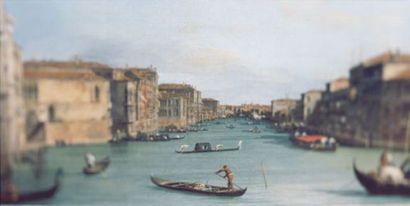 Canaletto, 2002, 40 x 80 inch archival pigment print
