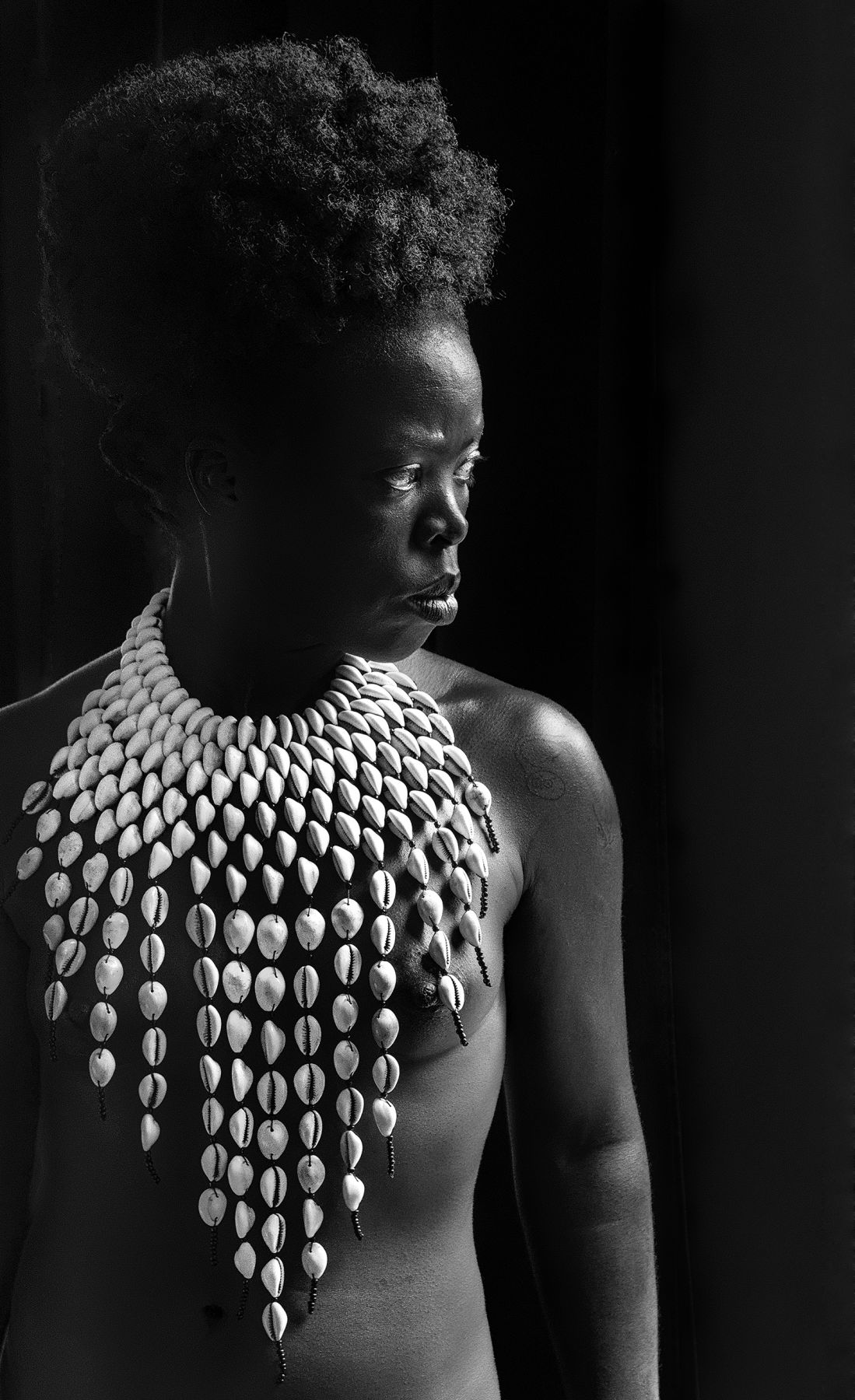 Zodwa, Paris, 2014. Gelatin Silver Print. 35.5 x 23.12 inches. Edition of 8.
