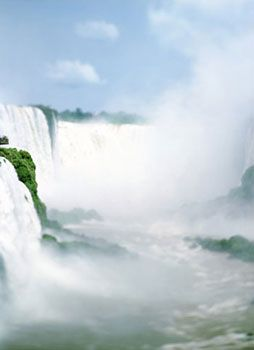 Iguazu, Argentina/Brazil (IG10), 2007, 41 x 61 inch archival pigment print, Signed, titled, dated and editioned on verso, Edition of 6