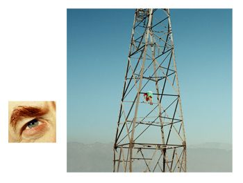 Alex Prager, 4:29pm, Van Nuys and Eye # 8 (Electric Tower), from the series Compulsion, 2012