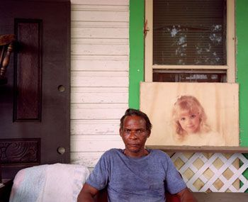 Cowboy, San Antonio, 1996, 33.86 x 40.55 inch Chromogenic Print, edition of 20