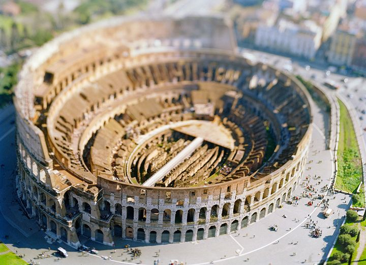 site specific_Roma_04_(Colosseo), 2004, 45 x 61 inch or 65 x 85 inch archival pigment print