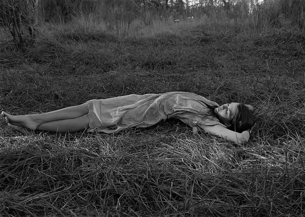 Mark Steinmetz, Carey, Farmington, GA, 1996. Gelatin silver print, 16 x 20 inches.