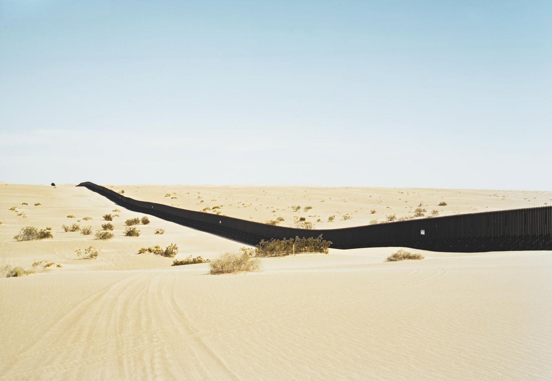 Untitled (Dunes) near El Centro, California, 2010, 39 x 55 or 55 x 75 inch chromogenic print