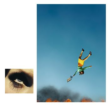 Alex Prager, 10:58am, Bunker Hill and Eye # 7 (Suicide), from the series Compulsion, 2012