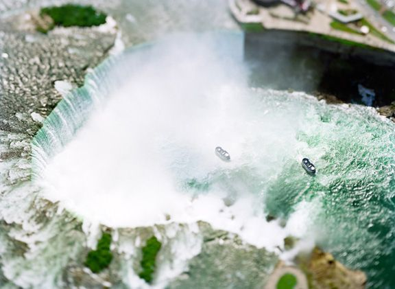 The Waterfalls Project (Niagara Falls), 2007, 61 x 45 inch or 85 x 65 inch archival pigment print