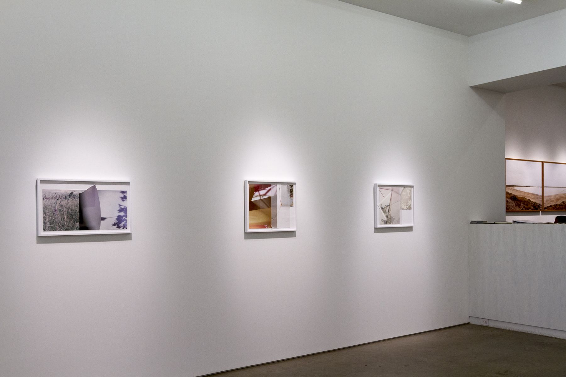 Installation shot,Lineations 2.
