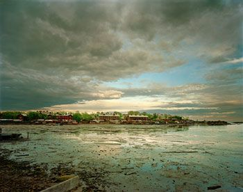 Fishing Village, White Sea, Russia, 2002, Chromogenic print, available 30 x 40 inches edition of 10, 40 x 50 inches edition of, 50 x 60 inches edition of 3