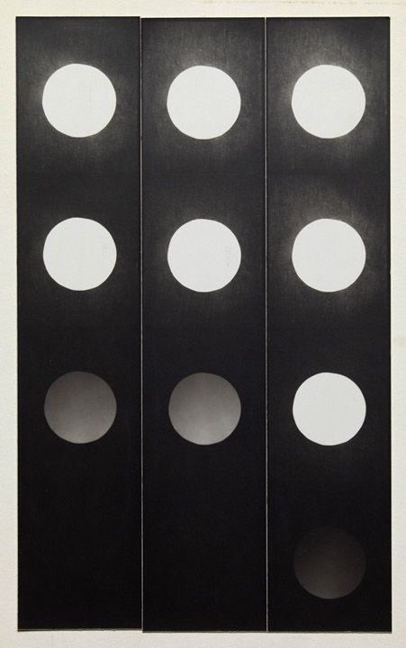 Jared Bark, Untitled, PB #1059,1973. Vintage gelatin silver photobooth prints, 8 x 4 3/4 inches overall.