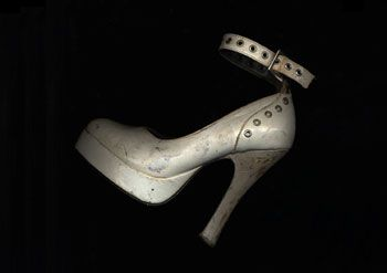 Julie's White Shoe, 2005, 20 x 24 inch C-Print, Signed, titled, dated and editioned on verso,