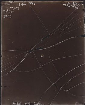 E.E.Bannard (Broken Plate), September 3, 1895, 1995, 8 x 10 inch, Printing Out Paper Print, Signed, titled and dated on verso