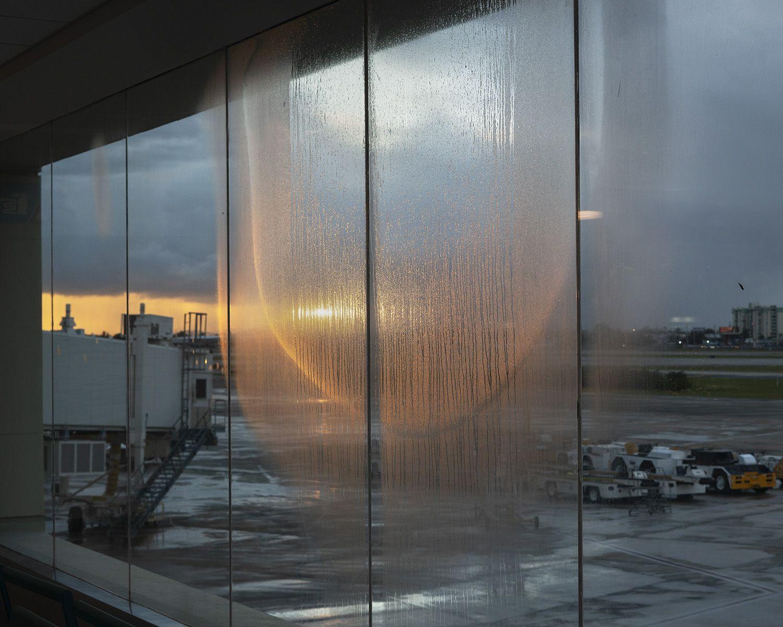 Genesis Báez,Untitled (San Juan Airport Condensation),2019. Archival pigment print, 24 x 30 inches.