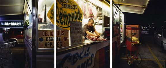 Like Home, 2008. Three-panel archival pigment print, available as24 x 60 or 40 x 90 inches.
