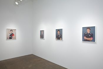 "Installation view, ""Amy Elkins: Elegant Violence,"" Yancey Richardson Gallery, September 8 - October 22, 2011"