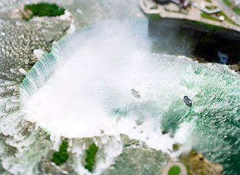 Niagara Falls, Canada/United States (N04), 2006, 41 x 61 inch archival pigment print, Signed, titled, dated and editioned on verso, Edition of 6