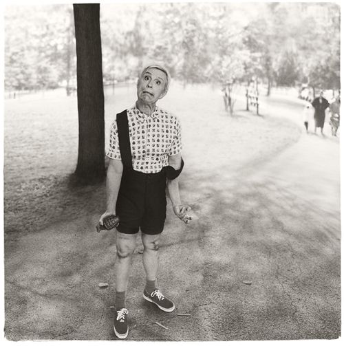 Diane Arbus / Child with a Toy Hand Grenade in Central Park, N.Y.C. (1962), 2014, Archival pigment print, 15 x 15 inches