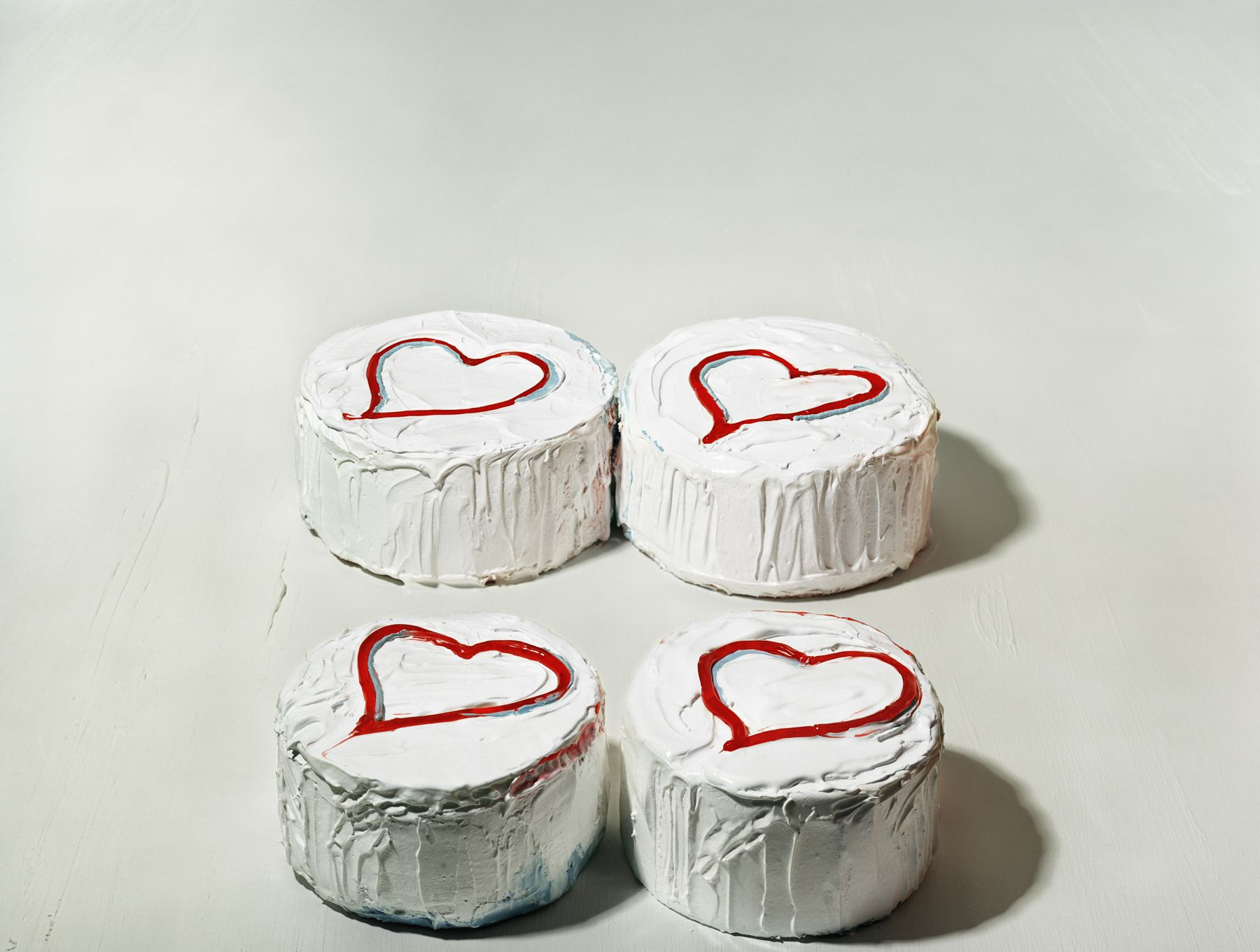 Sharon Core, Four Heart Cakes, 2004