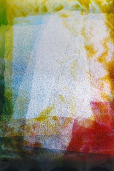 Lattice (Ambient) #120, 2014,48 x 30 inchunique chromogenic photogram