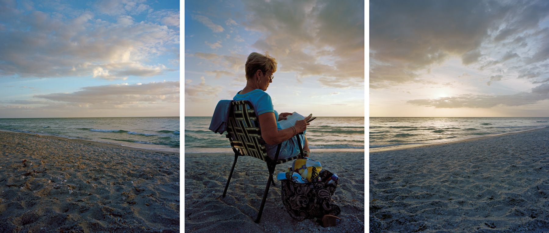 Tending to Doubt, 2009. Three-panel archival pigment print, available as 24 x 60 or 40 x 90 inches.
