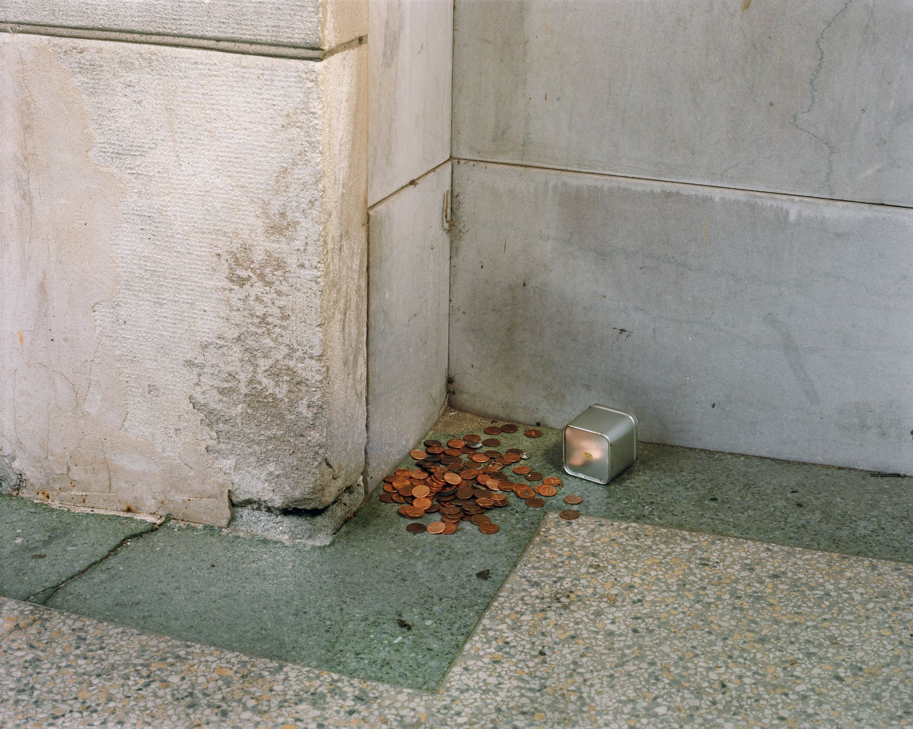 West Bank Building, 2002, 30 x 40 inches, Chromogenic Print