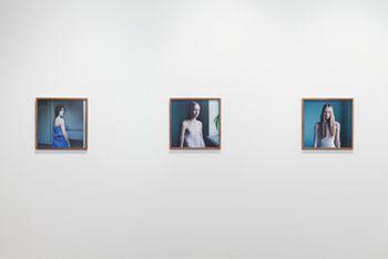 """Installation view, """"Hellen van Meene,"""" Yancey Richardson Gallery, September 8- October 22, 2011"""